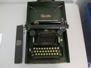 Antique Corona Folding Typewriter Vintage circa 1923 483E