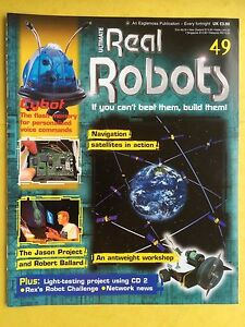 100% Vrai Ultimate Real Robots - Numero 49 - Magazine - Si You Can't Beat Les , Build Les Calcul Minutieux Et BudgéTisation Stricte