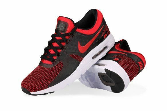 wholesale dealer 967ed d52bc Nike Air Max Zero Essential Men s Size 7.5 Shoes University Red Black  876070 600