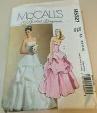 Size 6-8-10-12 McCalls M4375 Elegant Wedding Top and Skirt Pattern Women/'s Clothing Pattern