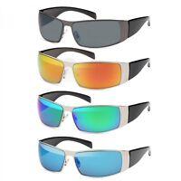 Herren Sonnenbrille Brille Pilotenbrille Matrix Sunglasses Nerd Wayfarer Aviator