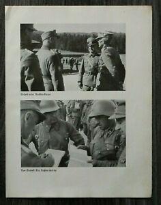 AQ-Blatt-2-WK-1940-Offiziere-Gebirgsjaeger-Grodek-Russen-Polen-MG-Strassenkampf