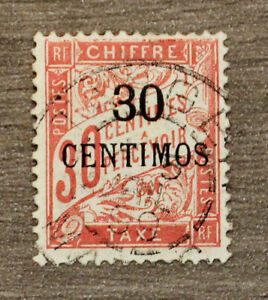 Stamp-Morocco-Morocco-Stamp-Colony-yt-Tax-3-Obl-Col3