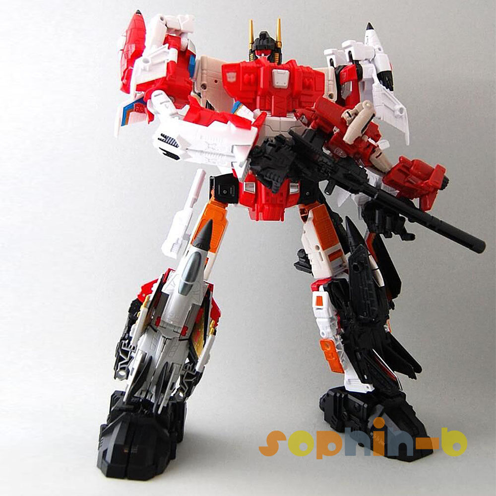 Transformed Superion Aerialbots Complete Combiner Wars Figure Toys Holiday Gifts