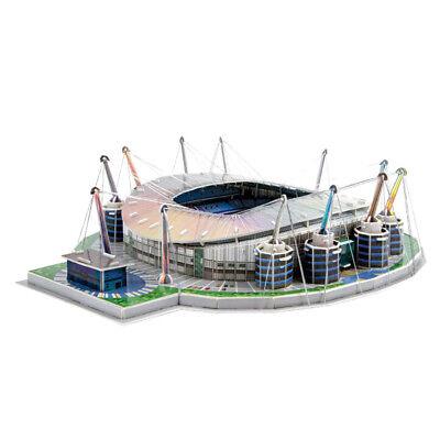 Diy Football Field Model Embly Manchester Stadium Puzzle Craft Art Ebay
