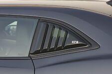GT Styling GT4172S Quarter Window Louver Smoke 2 pc.