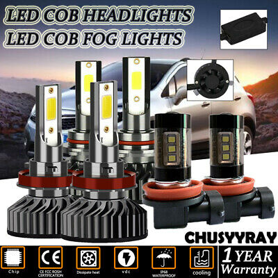 For Buick Encore 2013-18 9005+H11 LED Hi/Low Beam ...