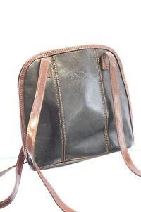 Pelle Tasche schwarz leder Ledertasche Damentasche 22x23x7,5cm