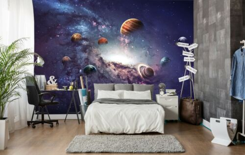 3D Universe Galaxy Planet 53 Wallpaper Murals Wall Print Wallpaper Mural AJ WALL