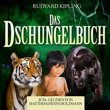 Hörbuch CD Das Dschungelbuch von Rudyard Kuipling 2CDs