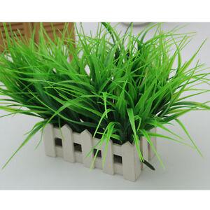 Kuenstliche-gefaelschte-Plastikgruen-Gras-Betriebsblumen-Buero-Haus-Garten-Fad-Heiss