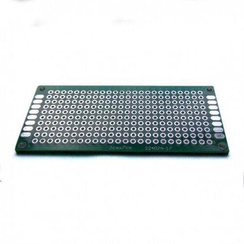 Doppelseitig Universal Prototyp Lochrasterplatine Circuit FR4 Platte Gedruckt