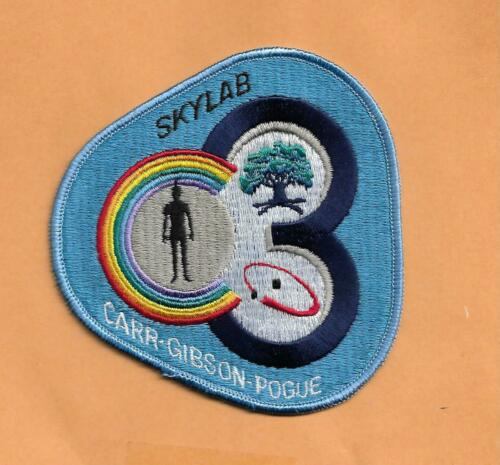 """GIBSON POGUE  4/"""" SPACE PATCH SKYLAB 4 CARR"""