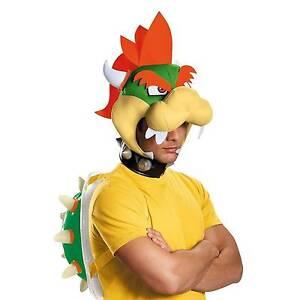 Stock photo  sc 1 st  eBay & Disguise Super Mario Bros Bowser Kit Luigi Peach Adult Halloween ...