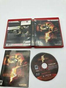 Sony-PlayStation-3-PS3-CIB-Complete-Tested-Resident-Evil-5-Ships-Fast