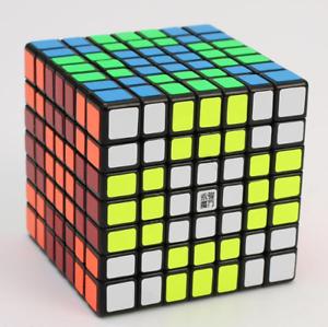7x7x7 Yongjun Guanfu Cube, Speed Cube 7x7x7, Cube 7x7x7 Cube-noir-afficher Le Titre D'origine