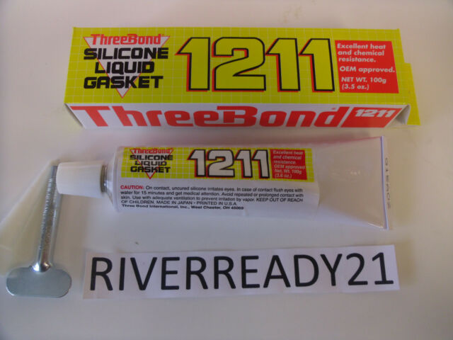 Three-Bond 1211 Silicone Engine Case Block Gasket Sealer Yama-Honda-bond New RTS