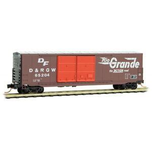 Denver-amp-Rio-Grande-Western-50-039-Standard-Box-Car-Double-Doors-MTL-18200010-N