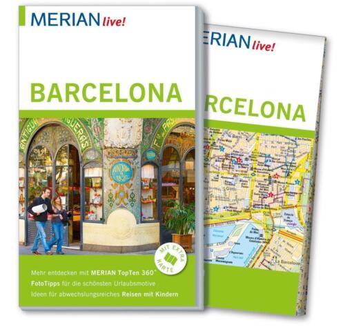 1 von 1 - MERIAN Reiseführer BARCELONA 2015/16+ Stadtplan herausnehmbar, UNGELESEN WIE NEU