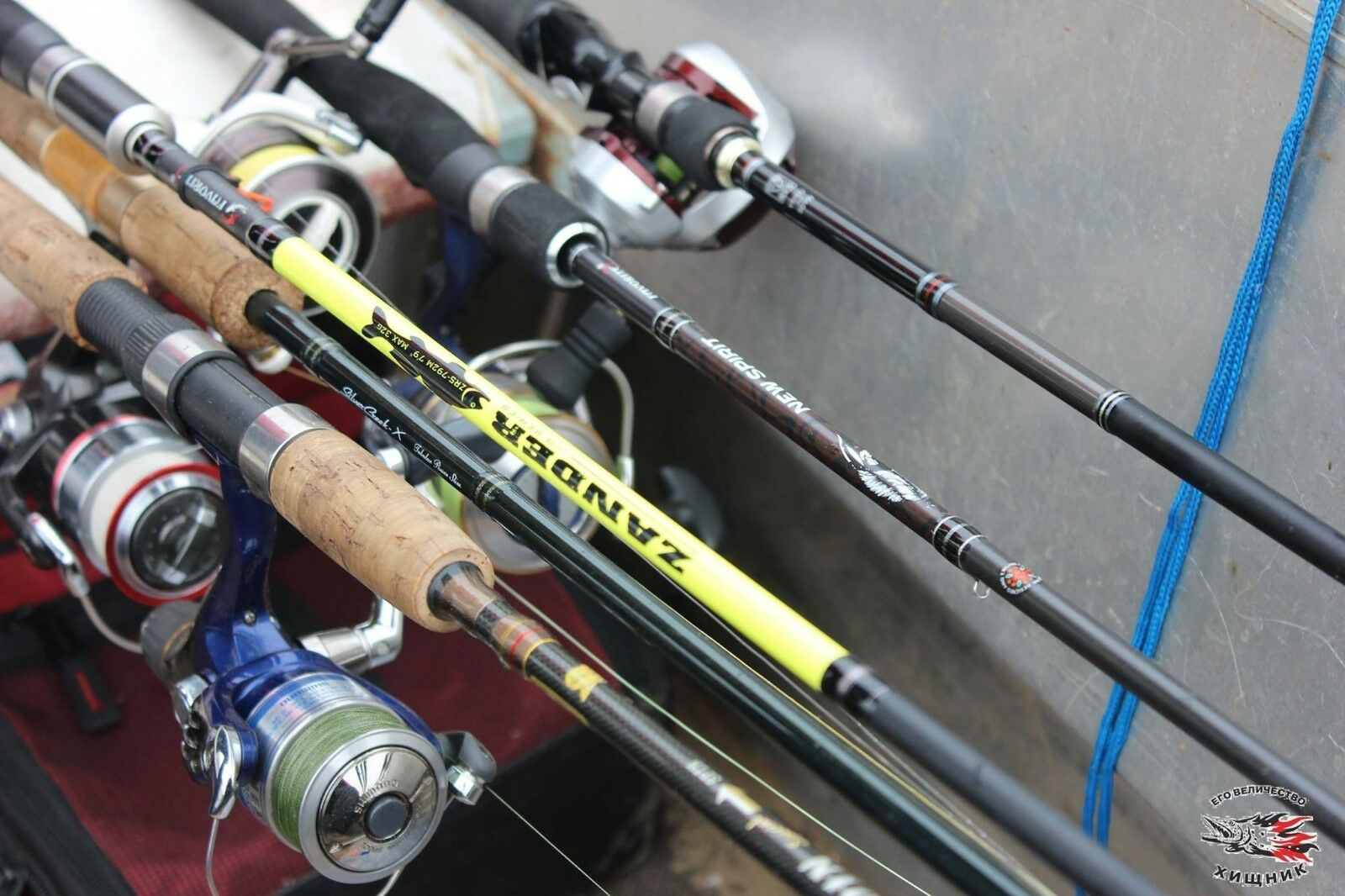 New   Favorite Spinning Rods All models (pike,perch,trout,zander) from  19.99..