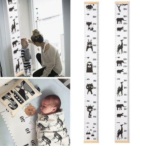 Height Measuring Scale Growth Chart Wall Sticker Fr Kid Baby Boy Girl Room Decor