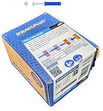 Rawlplug 4ALL Nylon Universal Wall Plugs 6MMx30MM 4.5MMxx40MM Screw Box Of 50