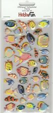 Softy Stickers CREApop 3451-187 Poissons Tropicaux - Fishes