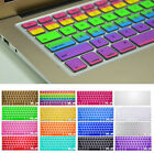 Silicone Keyboard Rainbow Color Skin Cover For Macbook Pro Air Mac 13