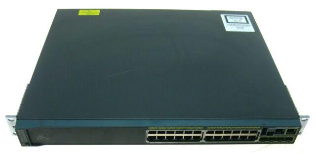 Cisco Catalyst 2960 24 Port 10/100/1000 Gigabit Ethernet Switch WS-C2960S-24PS-L