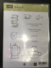 MORNING CUP Stampin Up stamp Set RETIRED