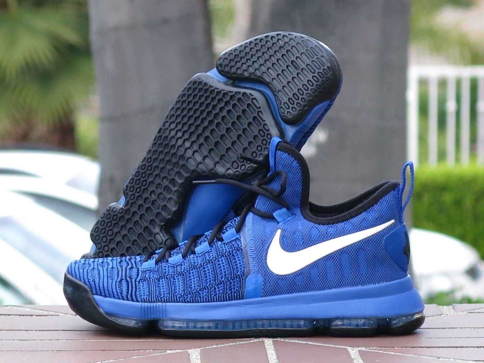 "Nike Zoom KD 9 ""On Court"" OKC Men's Basketball Sneakers 843392-410"