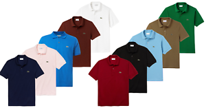 Lacoste-camiseta-polo-Classic-Fit-Mens-camisa-short-sleeve-polo-para-hombre-Camisa-nuevo-deporte
