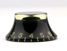 """Top Hat Knobs/""""CAB/"""" Cellulose Gold Vintage Tinted style US//CTS Potis fits Gibson®"""