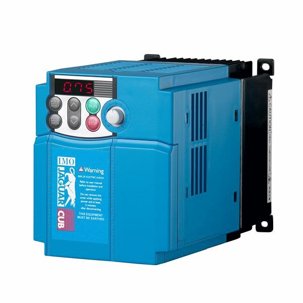 IMO Jaguar Inverter/Variable Frequency Drive 0.75Kw 3 Phase 400v 2.5 Amps