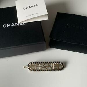 CHANEL-Authentic-2019-Winter-Barrette-Hair-clip-Brooch-New-Unused