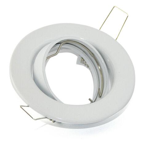 Einbaustrahler SMD LED 230V 5W=50W Deckenstrahler Spot Hochvolt dimmbar Set TOM