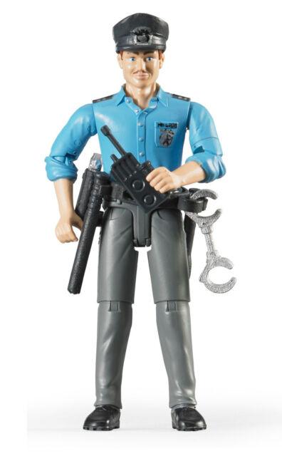 Bruder® 60050 Polizist mit hellem Hauttyp & Zubehör , NEU & OVP, DHLPaketversand