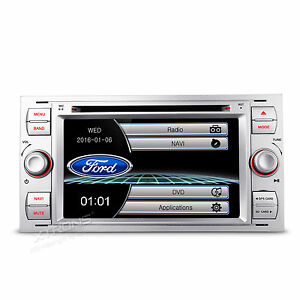 autoradio dvd 7 gps navi f r ford galaxy kuga fiesta. Black Bedroom Furniture Sets. Home Design Ideas