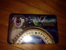 The Golden Compass Dominoes (Standard Size Double Six Set)        Factory Sealed