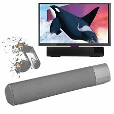 Bluetooth Wireless TV Soundbar Speaker Sound Bar Home Theater Subwoofer AUX USB