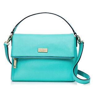 Kate-Spade-Bag-WKRU2922-Highland-Place-Mini-Maria-Giverny-Blue-amp-WALLET-SET