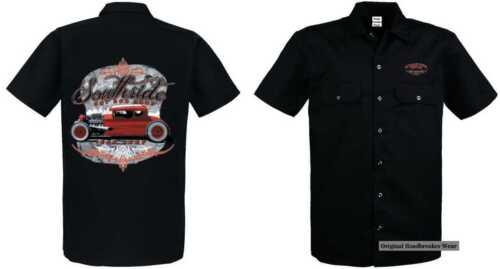 Sweatshirt schwarz  V8- Hot Rod-,US Car /& `50 Stylemotiv Modell Old School