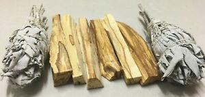 6-Palo-Santo-Sticks-amp-2-White-Sage-Smudge-Torch-Smudge-Kit-Refill
