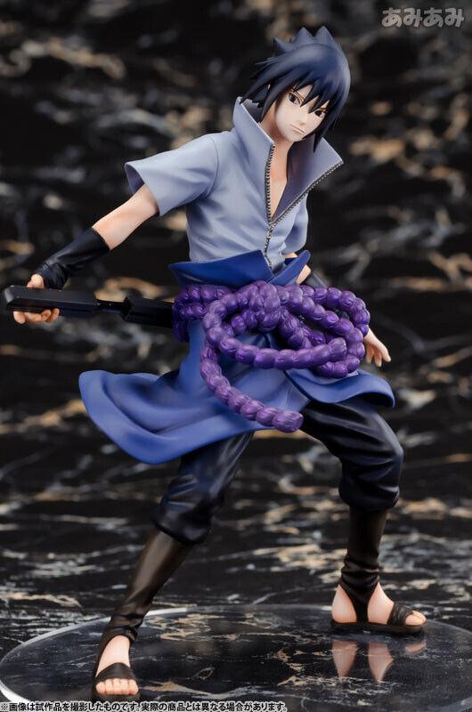 S.H.Figuarts Naruto Shippuden Uchiha Sasuke PVC Action Figure New In Box