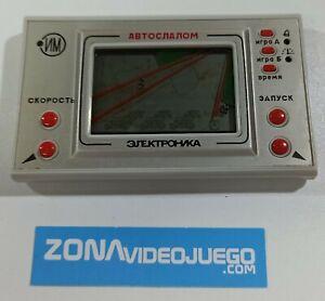 Juego electronico LCD, Auto Slalom, Elektronika 1990