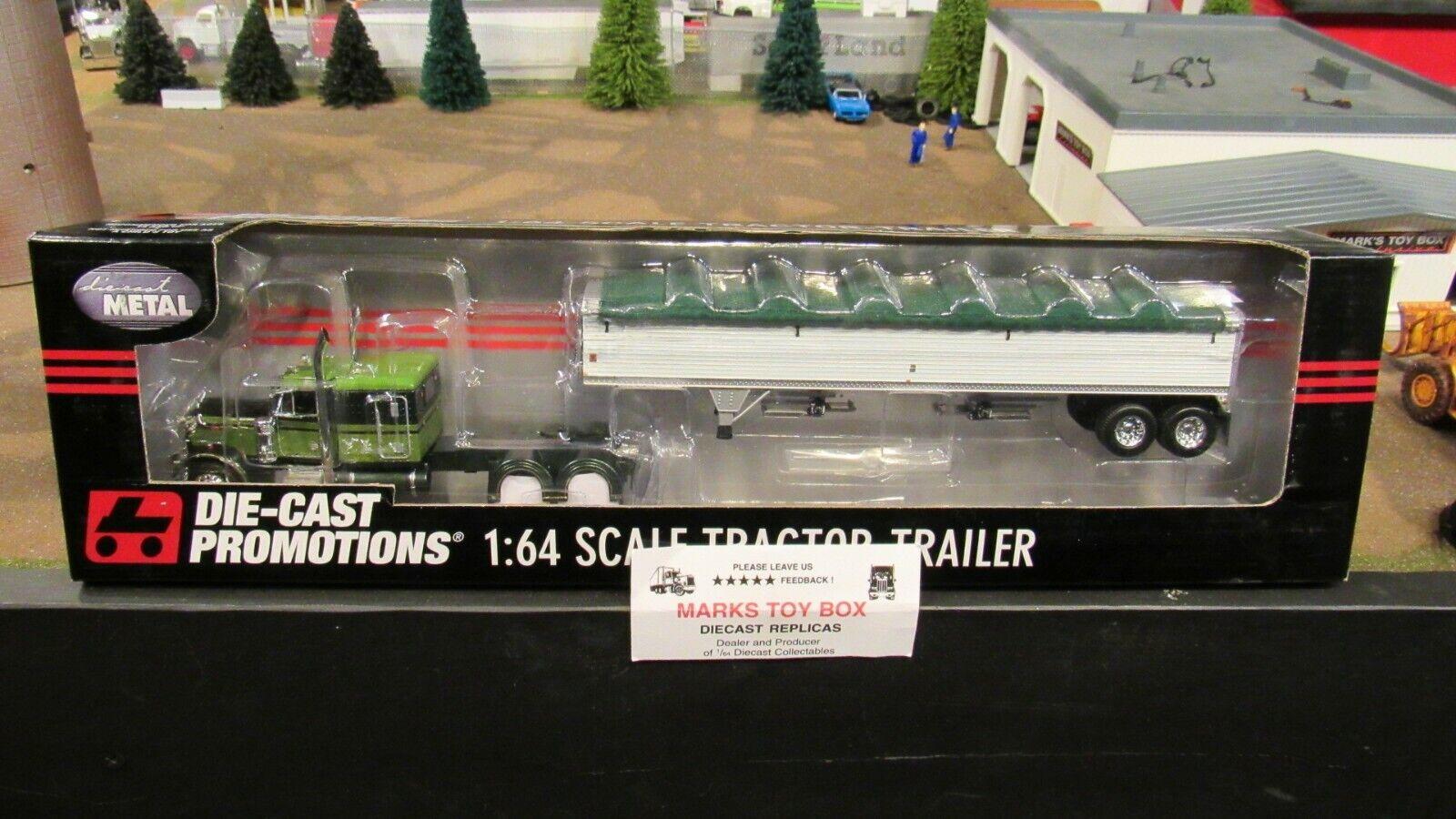 DCP 32828 Clint Moore PETERBILT  Pete 379 Semi Cab Camion GRAIN TRAILER 1 64 CL  loisir