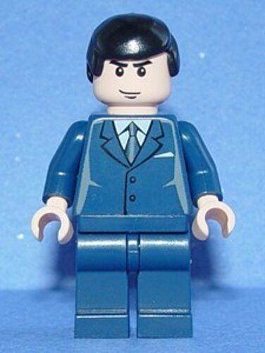 LEGO BATMAN - BRUCE WAYNE - MINIFIG   MINIFIGURE MINIFIGURE MINIFIGURE 3a1992