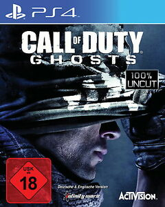 Call-of-Duty-Ghosts-ps4-Sony-PlayStation-4-Scelle-Neuf-neuf-dans-sa-boite