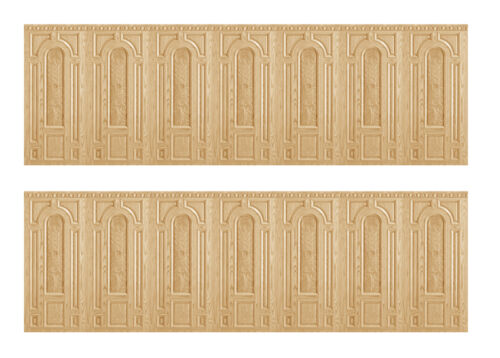 Dolls House Wallpaper Wainscot Matte Card 1//12th or 1//24th WP08