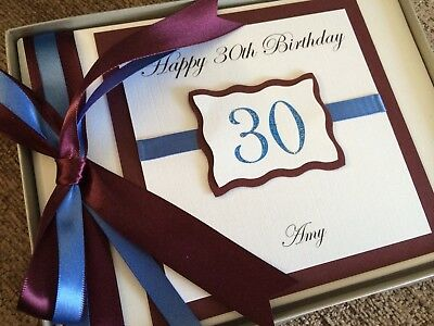 30th 50th 200  18th 40th 60th Personalised Rose Photo Album 21st